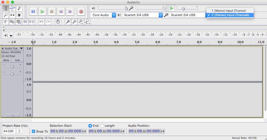 How to Record Skype using a Focusrite Scarlett 2i4 USB Audio